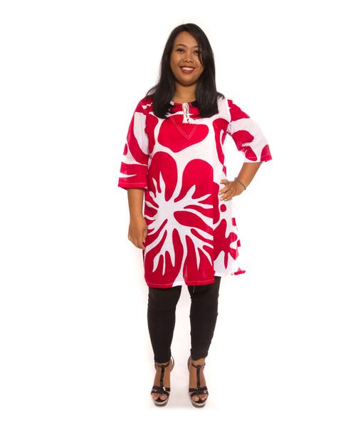 Bali Flower Red