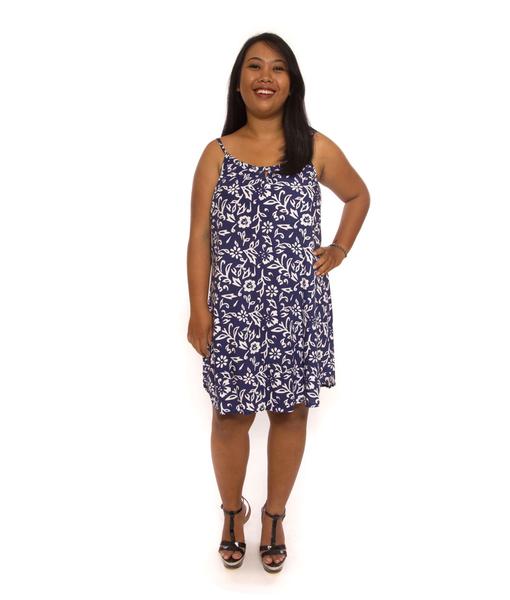 Sleek Dress Blue