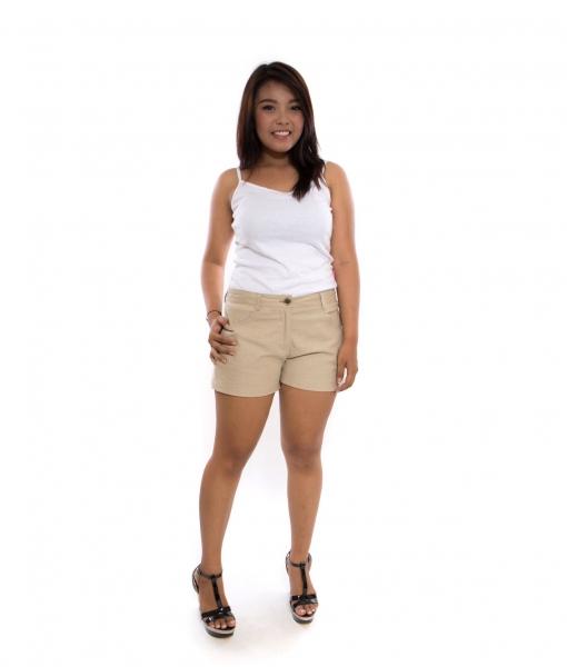 Kylie Khaki Shorts