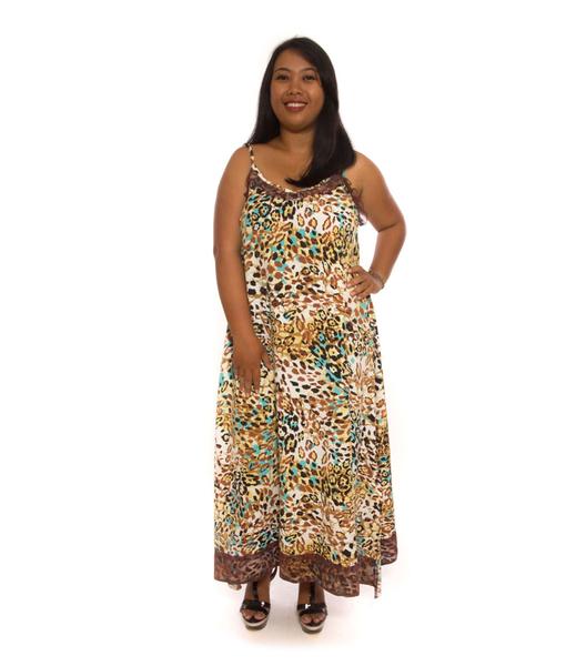 Lacy Leopard Dress