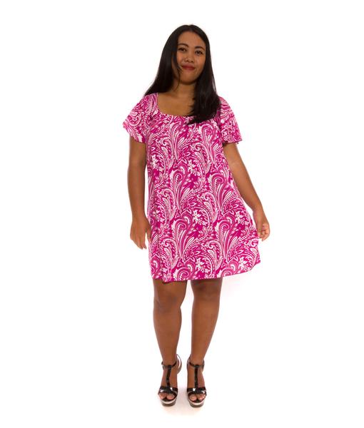 Suzy Dress Magenta