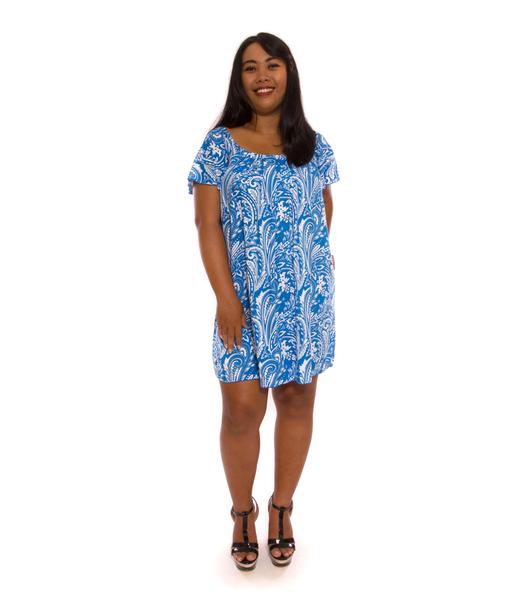Suzy Dress Blue