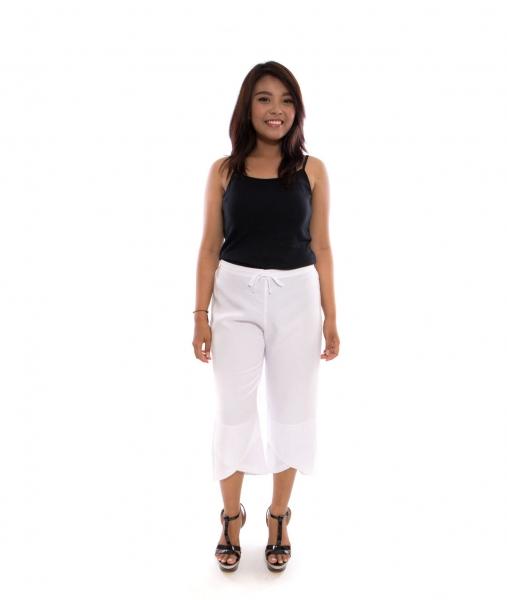 Carly White Pants